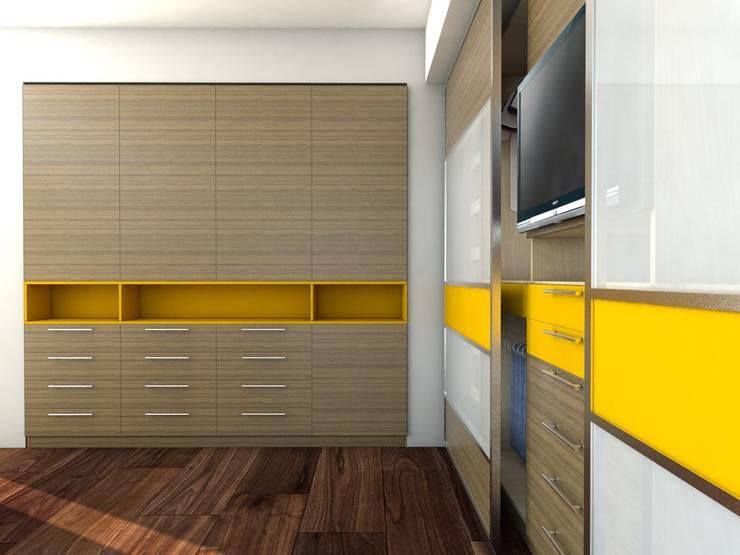 Diseño de Closet y Armario, Caracas:  de estilo  por Madea c.a.