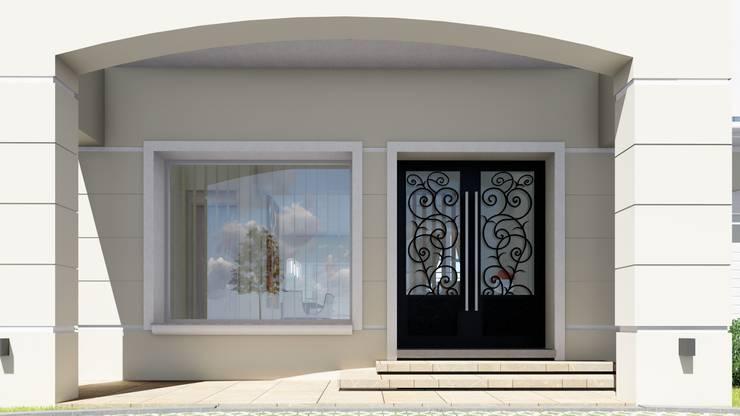 Vivienda Francesa Contemporanea: Casas de estilo  por ARBOL Arquitectos ,