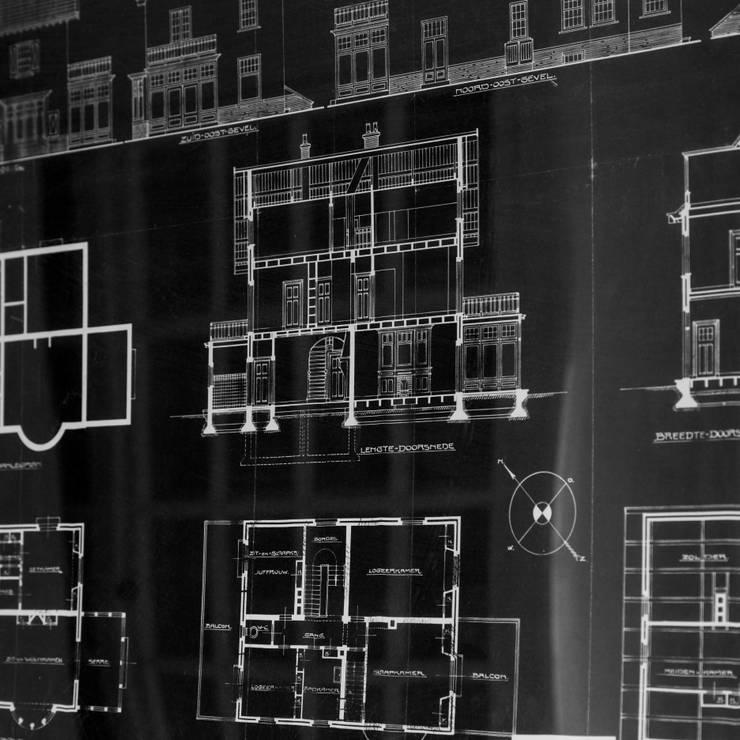 Projekty, klasyczne Domy zaprojektowane przez ML Interieurarchitectuur