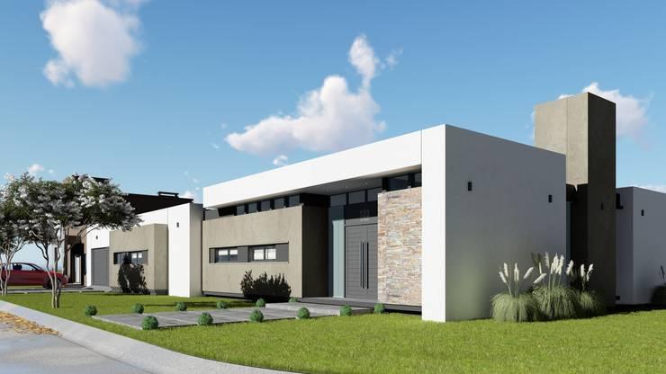 Vivienda Minimalista: Casas de estilo  por ARBOL Arquitectos ,