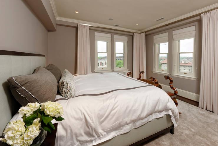 Luxury Kalorama Condo Renovation in Washington DC:  Bedroom by BOWA - Design Build Experts