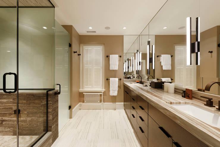 Luxury Kalorama Condo Renovation in Washington DC:  Bathroom by BOWA - Design Build Experts