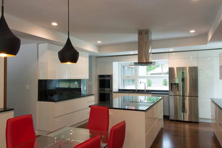 Annapolis Renovation/Addition: modern Kitchen by ARCHI-TEXTUAL, PLLC