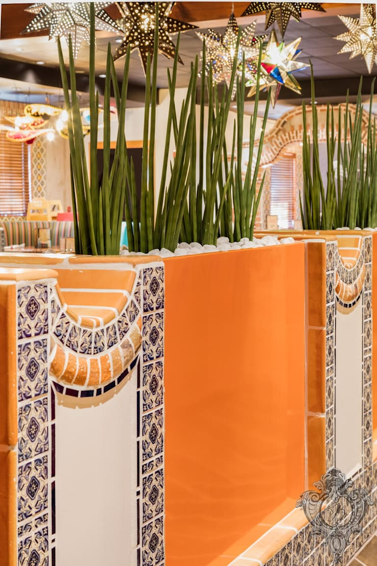 Restaurant Details:  Commercial Spaces by Kellie Burke Interiors