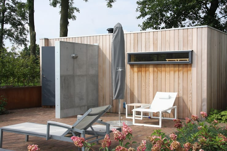 Industrial style spa by ConcreetDesign BV Industrial Concrete