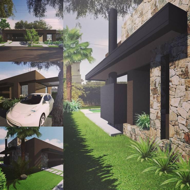 Vivienda : Casas de estilo  por Estudio Karduner Arquitectura