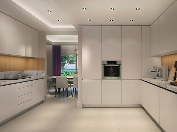 eclectic Kitchen by Alto Mimarlık