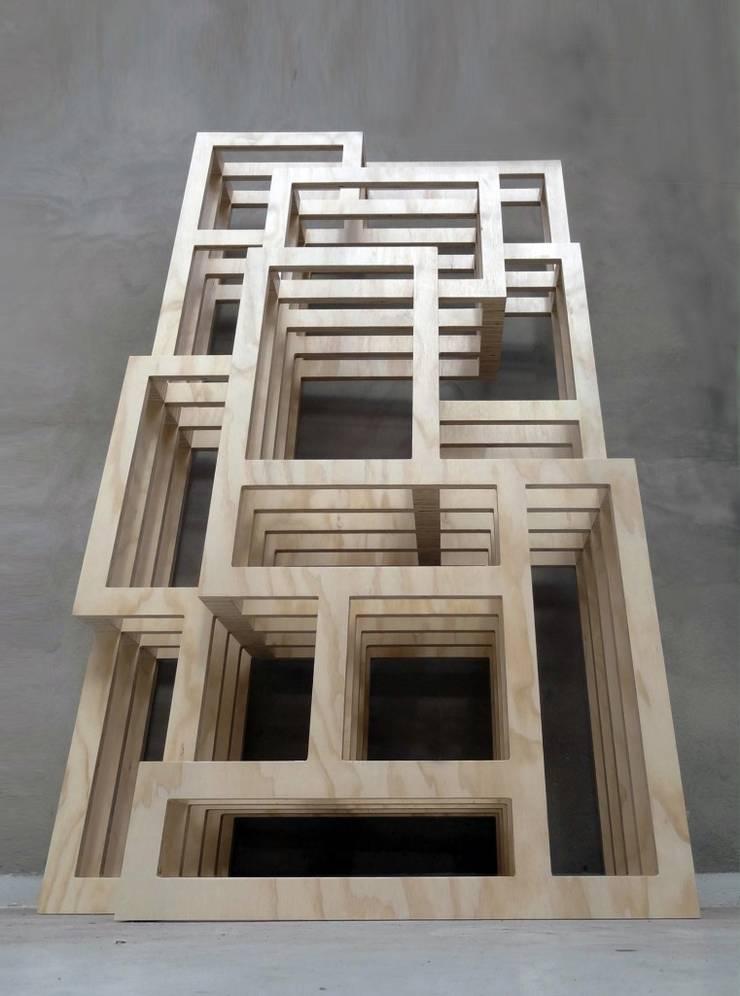 FRAMES:  Woonkamer door Studio Gerard de Hoop