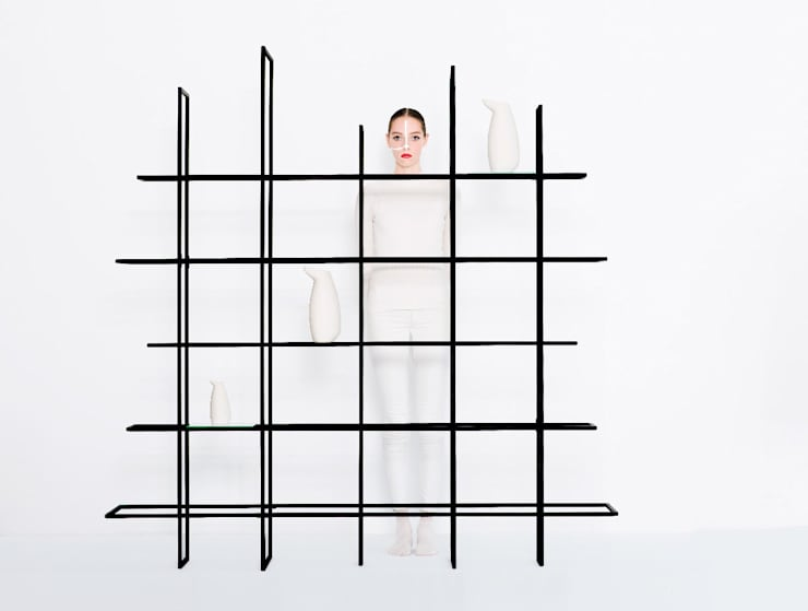 FRAMES 2.5:   door Studio Gerard de Hoop , Minimalistisch Metaal