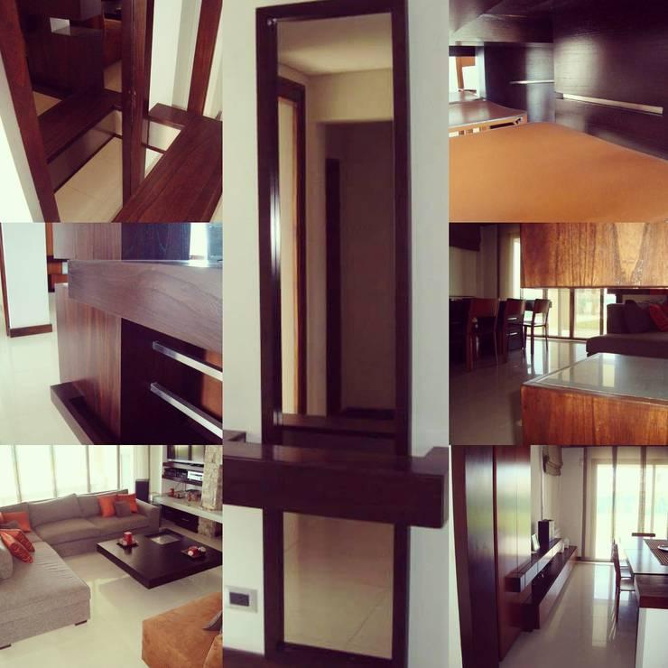 Interiorismo/Diseño de Muebles: Livings de estilo  por Estudio Karduner Arquitectura