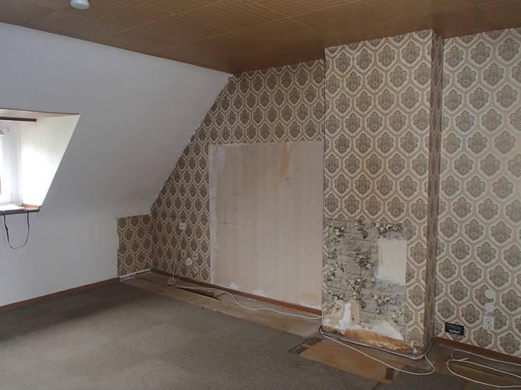 Projekty,  Salon zaprojektowane przez ANKELIETZKE  Innenarchitektin