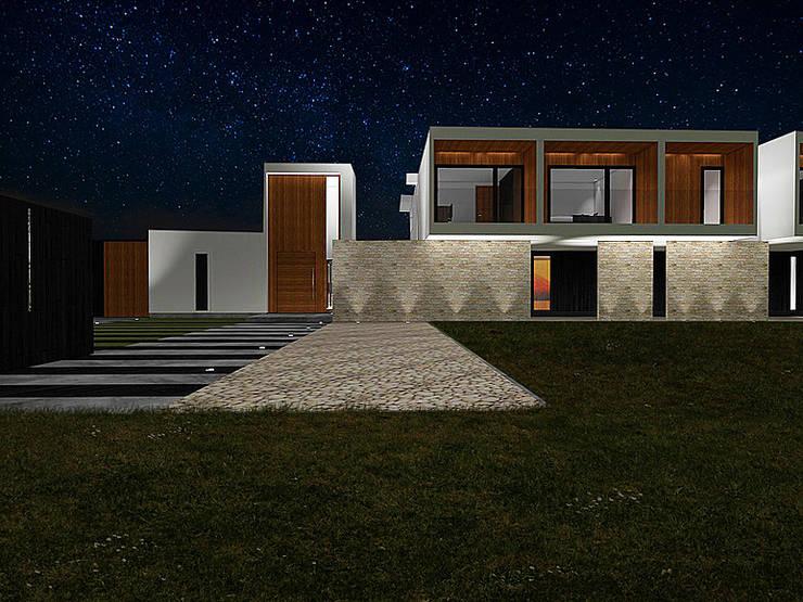 Casa Bravo – García, Ovalle, Chile: Casas de estilo  por Smartlive Studio