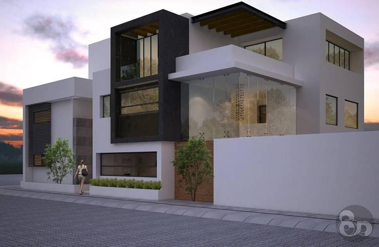 บ้านและที่อยู่อาศัย โดย ECNarquitectura, โมเดิร์น