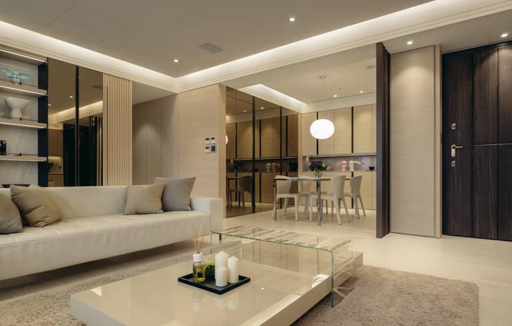 NO.36 L宅:  餐廳 by 汎羽空間設計