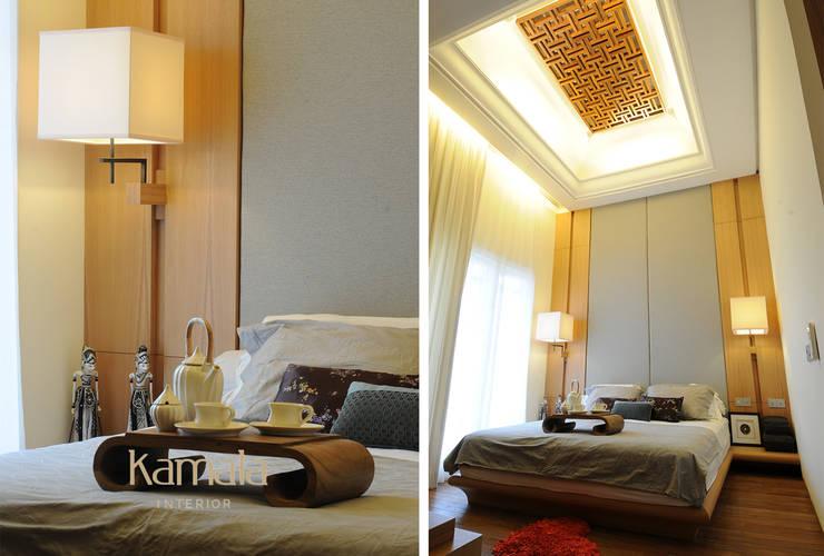 Private Residence @ Gading Serpong:  Kamar Tidur by Kamala Interior