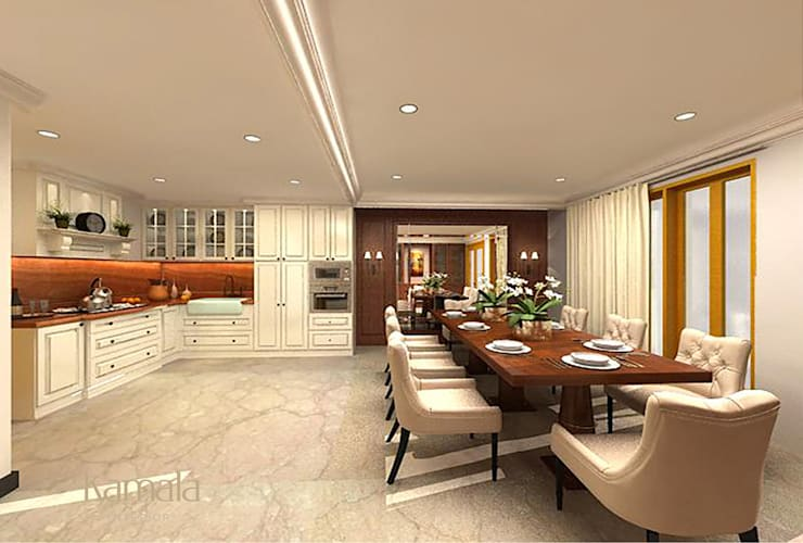 Kitchen by Kamala Interior