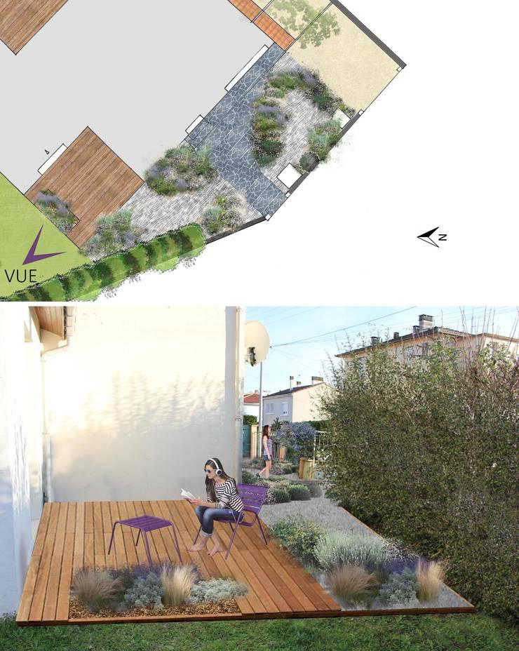 Conception Jardin moderne par Constans Paysage Moderne
