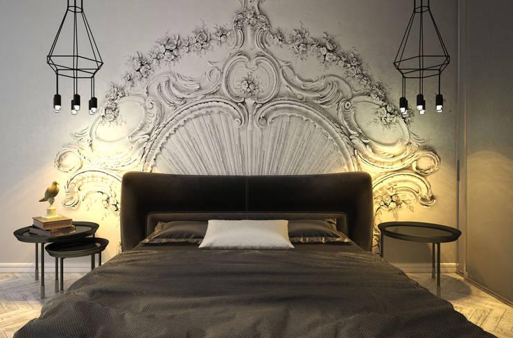 غرفة نوم تنفيذ U-Style design studio