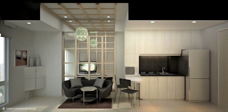 Service Apartment:  Hotels by FerryGunawanDesigns