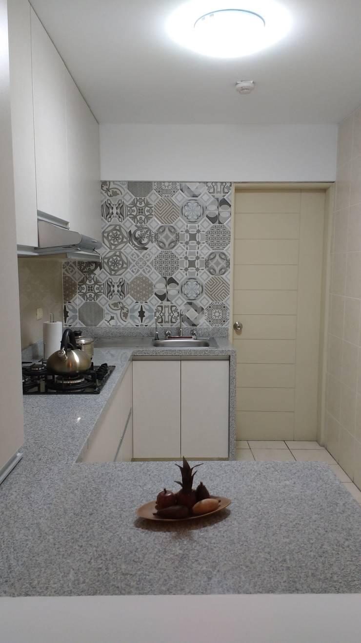 Remodelación Cocina AZ:  de estilo  por Alicia Ibáñez Interior Design