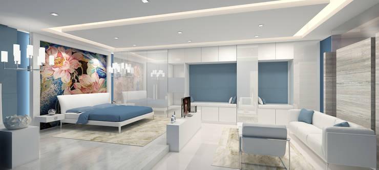 Mr. Ram's Residence:   by De Panache  - Interior Architects