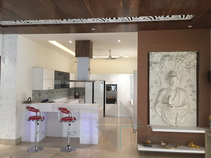 KIRTI BHAWAN: modern Kitchen by APT Designs