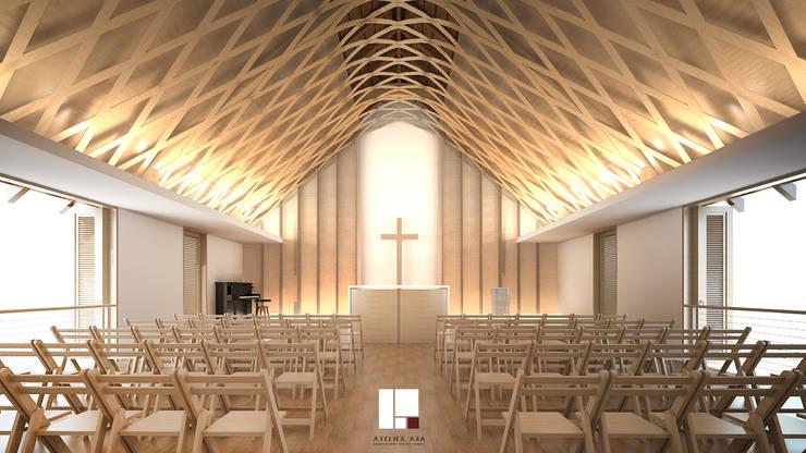 Gereja Ka Im Tong:  Konservasi by Atelier Ara