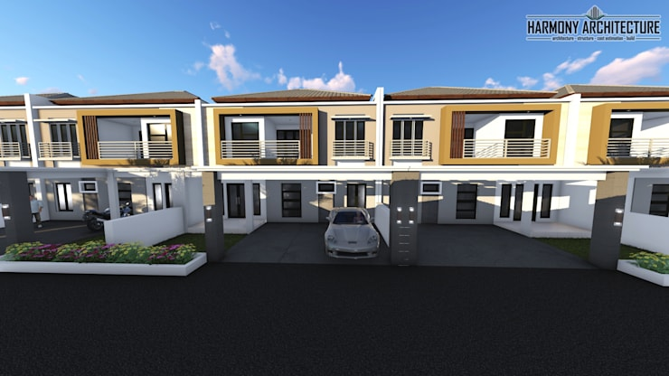Perumahan Arjuna Residence:  Rumah by Harmony Architecture