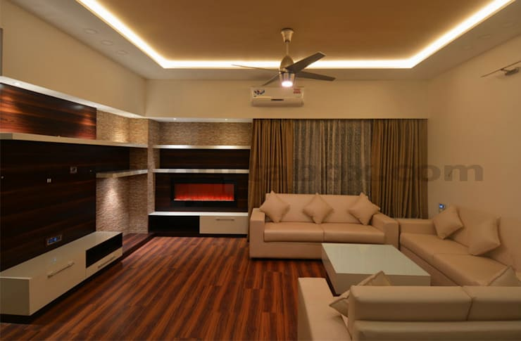 residential project:  Living room by Outtabox