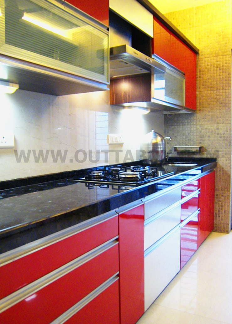 residential project :  Kitchen by Outtabox