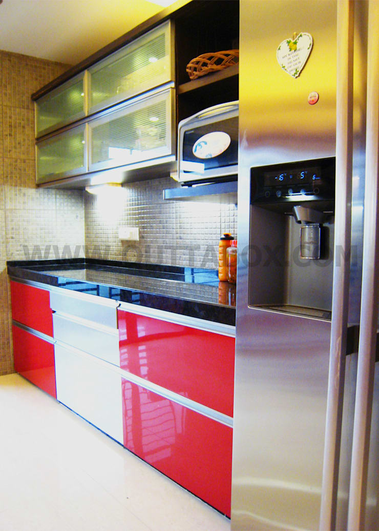 residential project : modern Kitchen by Outtabox