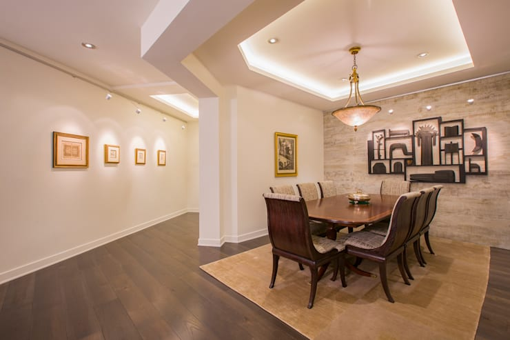 McLean Transitional :  Dining room by FORMA Design Inc.