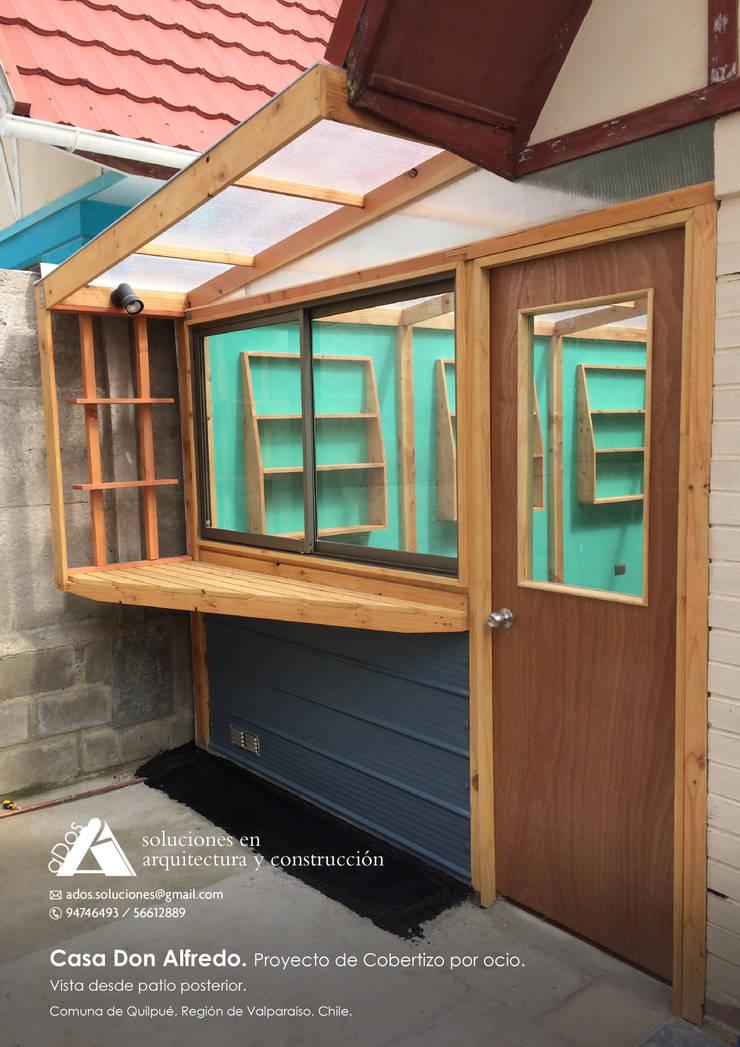 Casa don Alfredo. Proyecto de cobertizo por ocio.: Casas de estilo  por Ados