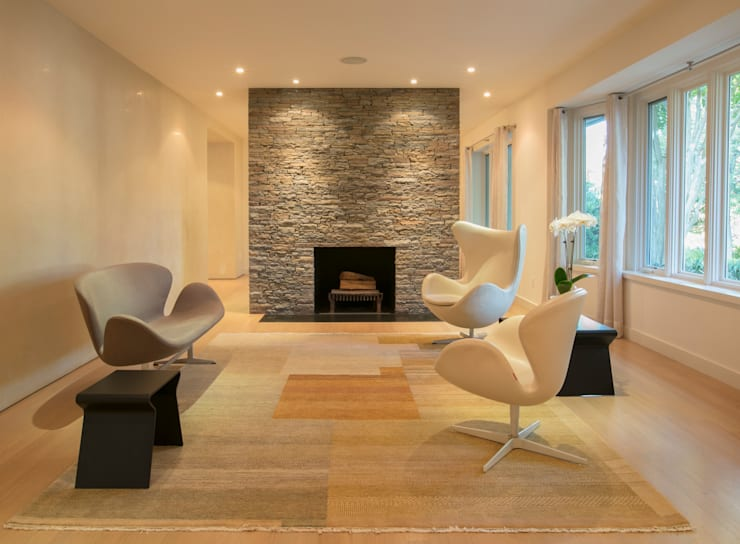 Spring Valley Residence: modern Living room by FORMA Design Inc.
