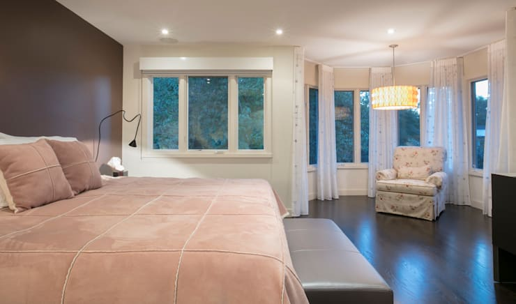 Spring Valley Residence: modern Bedroom by FORMA Design Inc.
