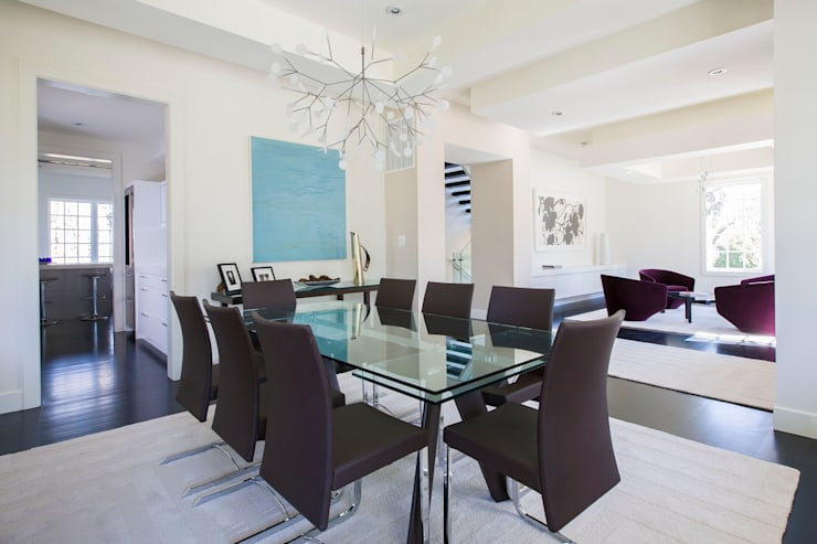 Craftsman Modern:  Dining room by FORMA Design Inc.