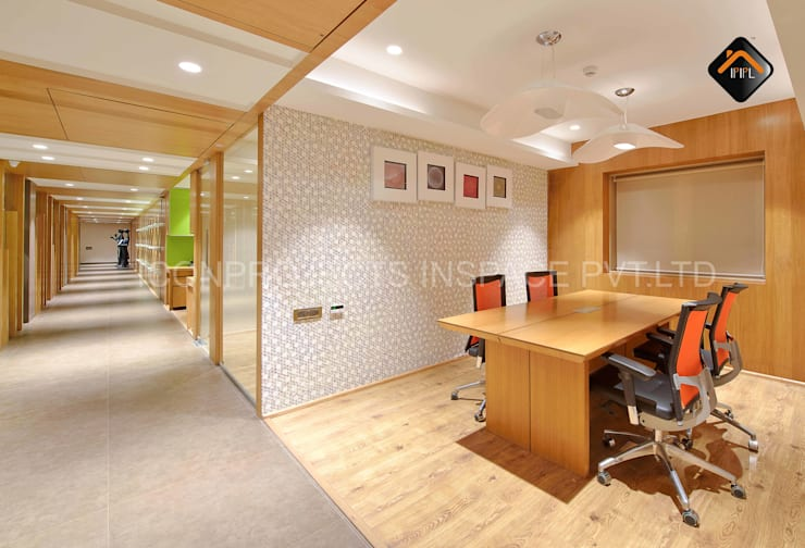 Workstation:  Commercial Spaces by ICON PROJECTS INSPACE PVT.LTD