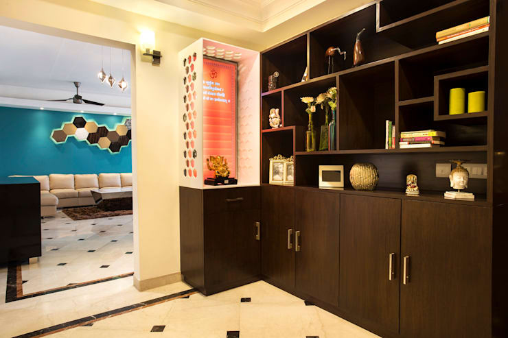 central park, Gurgaon. (residence):   by Total Interiors Solutions Pvt. ltd.