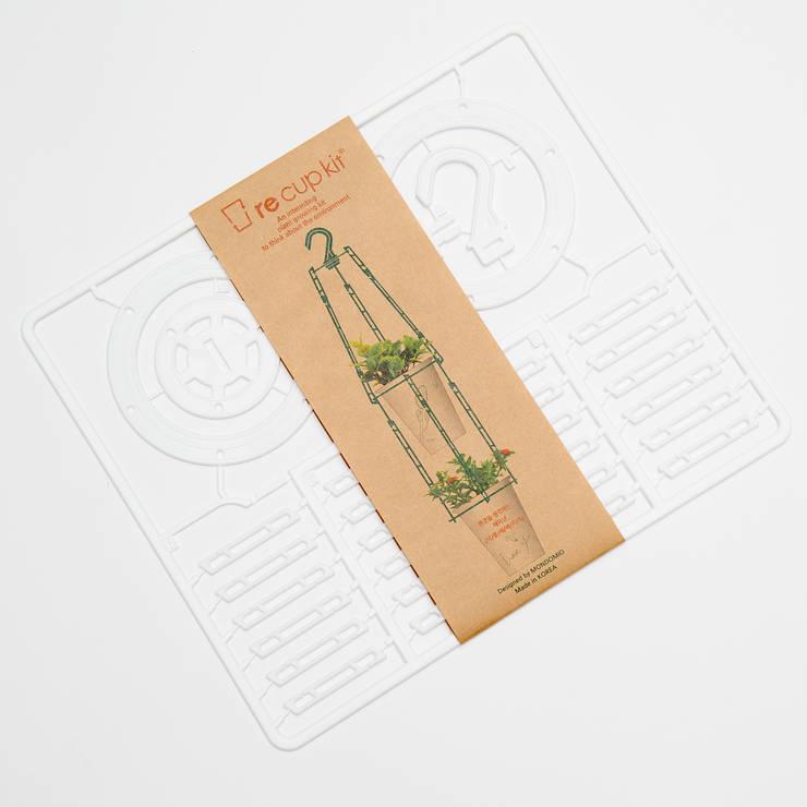 re cup kit – 플랜테리어 소품 : MondoMio의  상업 공간