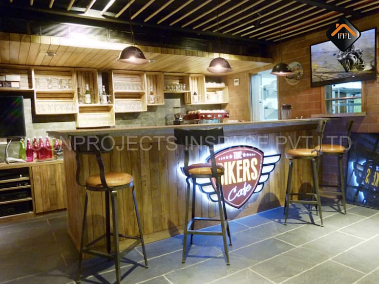 Service Counter:  Hotels by ICON PROJECTS INSPACE PVT.LTD,Rustic