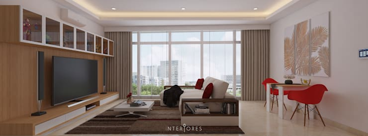 The Windsor:  Ruang Keluarga by INTERIORES - Interior Consultant & Build