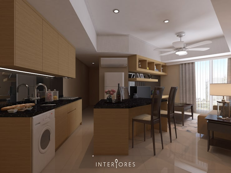The Mansion - Kemayoran:   by INTERIORES - Interior Consultant & Build