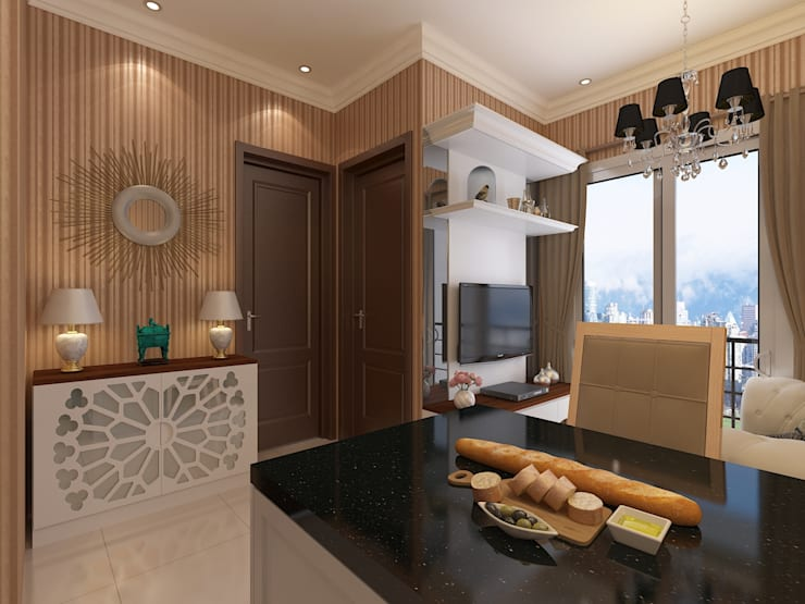 Modern Classic:   by INTERIORES - Interior Consultant & Build