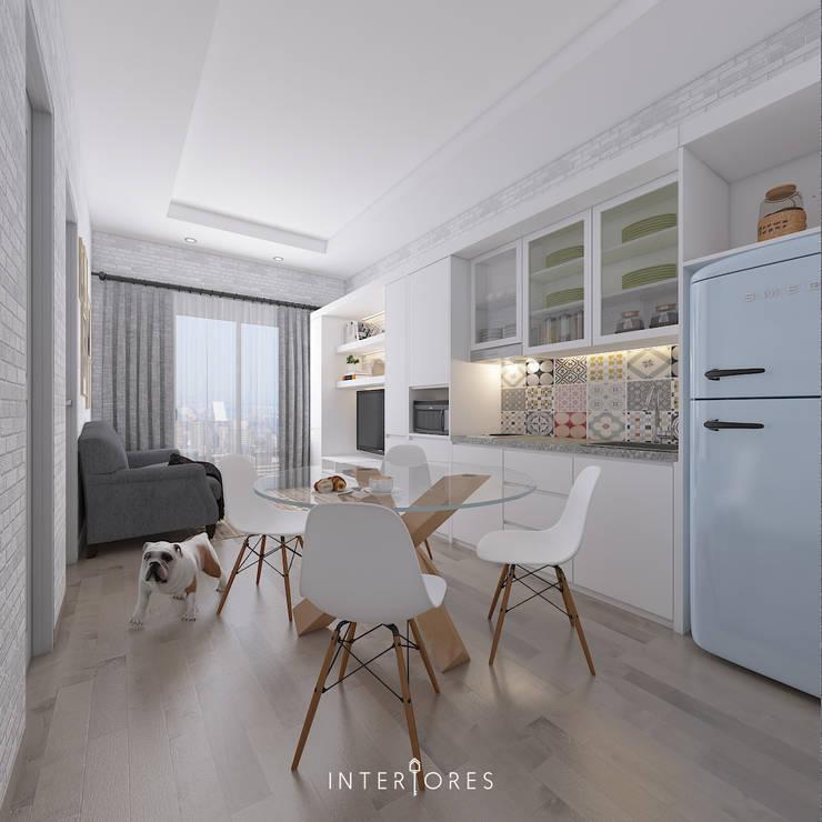 Scandinavian @ Pejaten:   by INTERIORES - Interior Consultant & Build