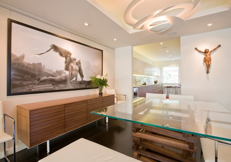 Tenleytown Rowhouse: modern Dining room by FORMA Design Inc.