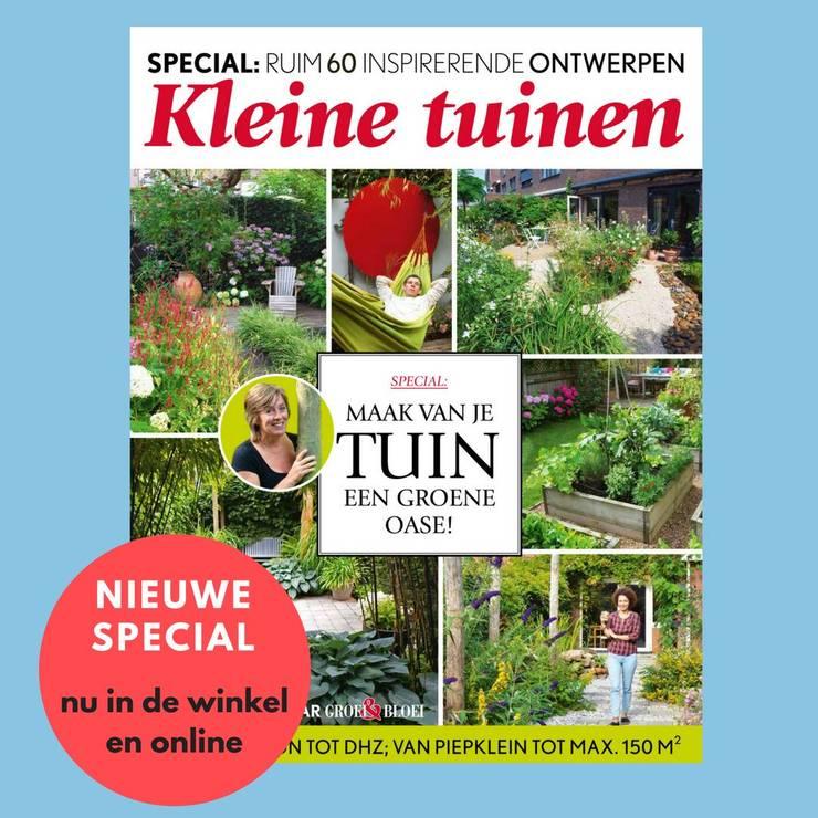 Journalistiek en publicatie van tuinontwerpen door Lucie Nijsen:   door Lucie Nijsen Tuinvormgeving