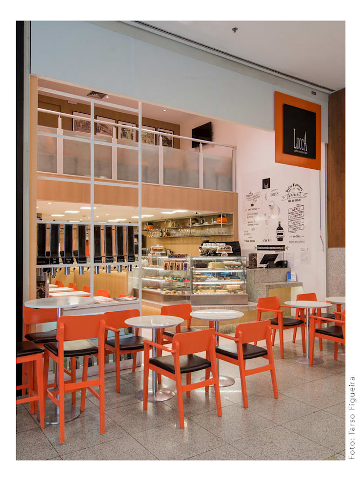 Commercial Spaces by MM8 Arquitetura e Interiores, Modern Wood Wood effect