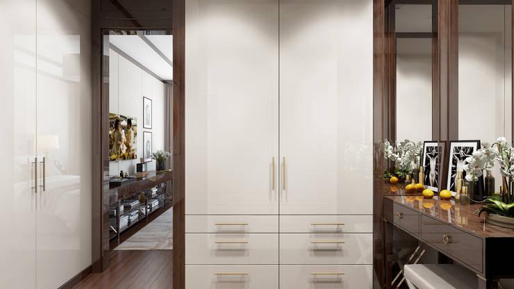غرفة الملابس تنفيذ Арт Реал Дизайн