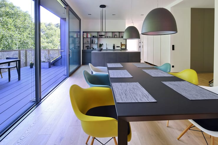 مطبخ تنفيذ Thillmann Architekten