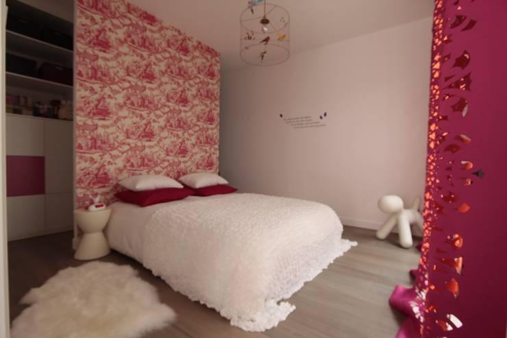 Kinderkamer door h(O)me attitudes by Sylvie Grimal